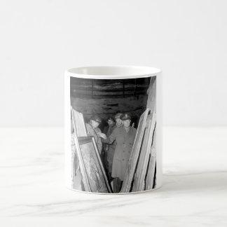 General Dwight D. Eisenhower, Supreme_War Image Coffee Mug