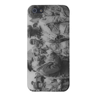 General Dwight D. Eisenhower with Paratroopers iPhone 5 Cover