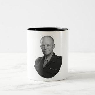 General Dwight Eisenhower Tazas De Café