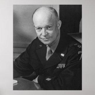 General Dwight Eisenhower -- WWII Impresiones