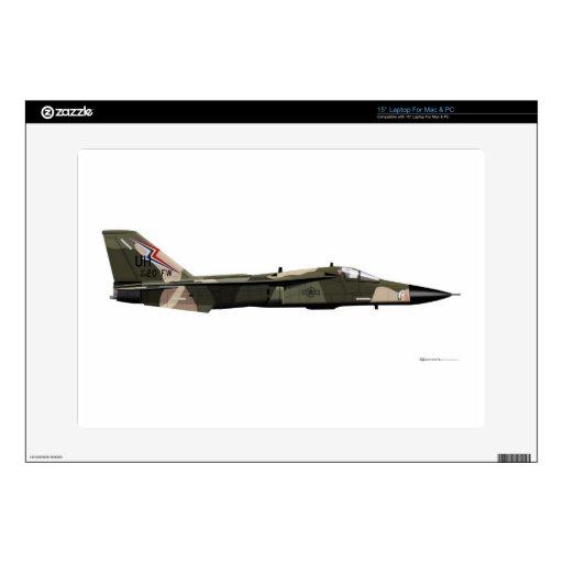 General Dynamics F-111 Aardvark Laptop Decals | Zazzle