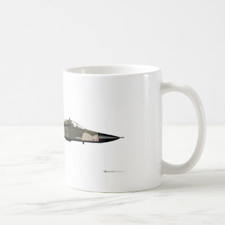 General Dynamics F-111 Aardvark Classic White Coffee Mug