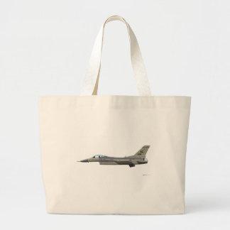 General Dynamics F-16D Fighting Falcon AzANG Jumbo Tote Bag