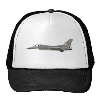 General Dynamics F-16D Fighting Falcon Tex ANG col Trucker Hat