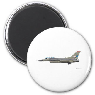 General Dynamics F-16D Fighting Falcon Tex ANG col Magnet