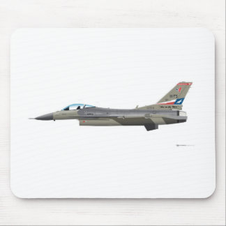 General Dynamics F-16D Fighting Falcon Tex ANG col Mouse Pads