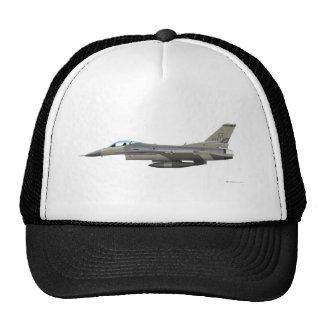 General Dynamics F-16D Fighting Falcon Tex ANG sub Trucker Hat