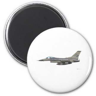 General Dynamics F-16D Fighting Falcon Tex ANG sub Magnet