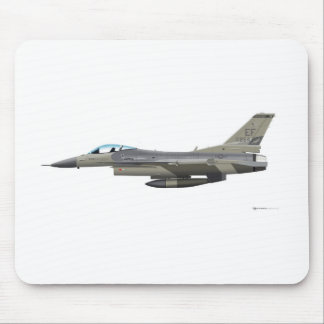General Dynamics F-16D Fighting Falcon Tex ANG sub Mousepad