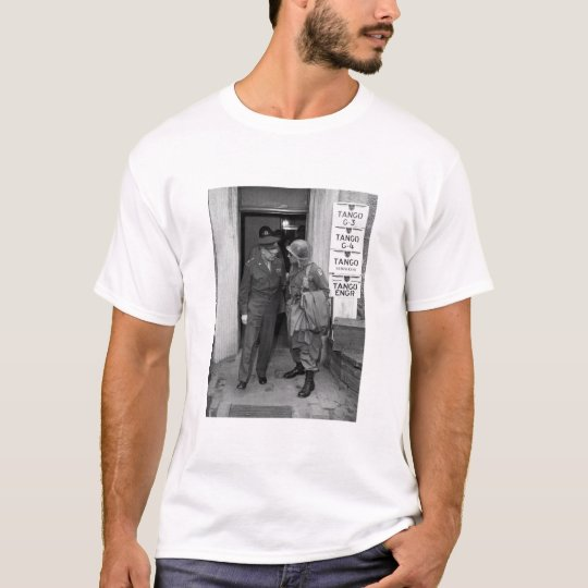General Eisenhower and General Ridgway -- WWII T-Shirt