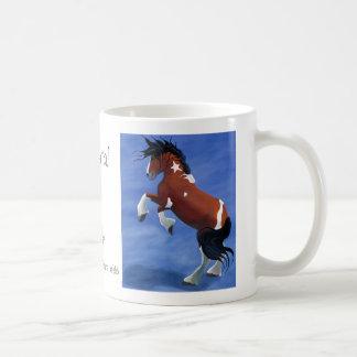 General en la taza de café del juego