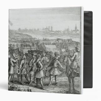 General Fairfax con sus fuerzas antes