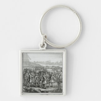 General Fairfax with his forces before Keychain