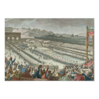 General Federation of French in Champs de Mars Card