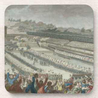 General Federation of French in Champs de Mars Drink Coaster