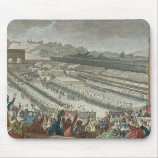 General Federation of French in Champs de Mars Mouse Pad