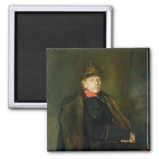 General Fieldmarshal Helmuth Graf von Moltke 2 Inch Square Magnet