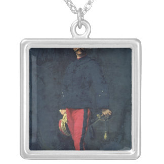 General Gaston Auguste  Marquis de Gallifet Silver Plated Necklace