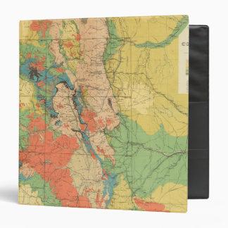 General Geological Map of Colorado 3 Ring Binder