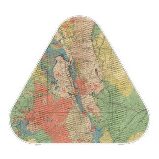 General Geological Map of Colorado Bluetooth Speaker