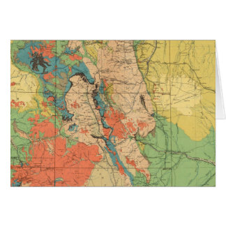 General Geological Map of Colorado Card