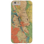 General Geological Map of Colorado Barely There iPhone 6 Plus Case