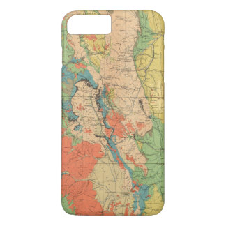General Geological Map of Colorado iPhone 7 Plus Case