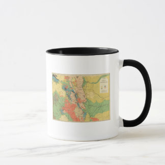 General Geological Map of Colorado Mug