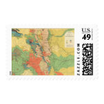 General Geological Map of Colorado Postage