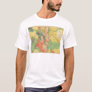 General Geological Map of Colorado T-Shirt