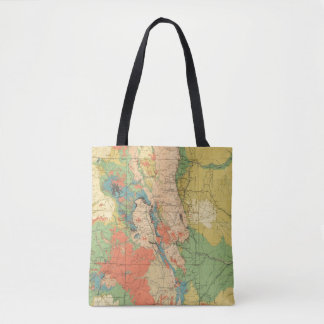 General Geological Map of Colorado Tote Bag