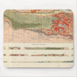 General Geological Map of the Marquette District Mouse Pad