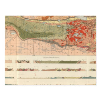 General Geological Map of the Marquette District Postcard