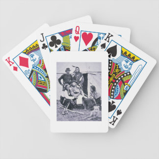 General George A. Custer (1839-76) with his Indian Bicycle Playing Cards
