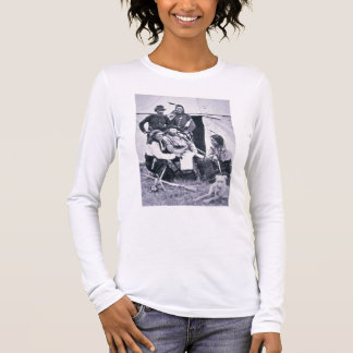 General George A. Custer (1839-76) with his Indian Long Sleeve T-Shirt