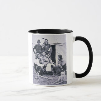 General George A. Custer (1839-76) with his Indian Mug