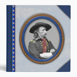 "General George A. Custer Binder Carpeta 1 1/2"""