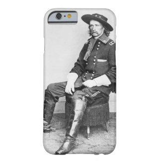 General George A. Custer (foto de b/w) Funda Barely There iPhone 6
