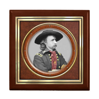 General George A. Custer Jewelry Box