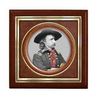 General George A. Custer Joyero Cuadrado Grande