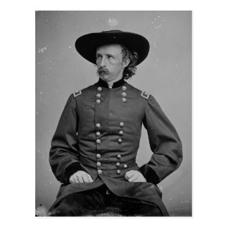 General George Armstrong Custer by Mathew Brady Postcard