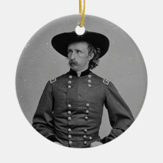General George Armstrong Custer de Mathew Brady Adorno Redondo De Cerámica
