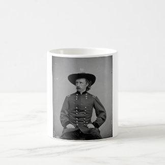 General George Armstrong Custer de Mathew Brady Taza Básica Blanca