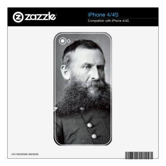 General George Crook (b/w photo) Skin For The iPhone 4
