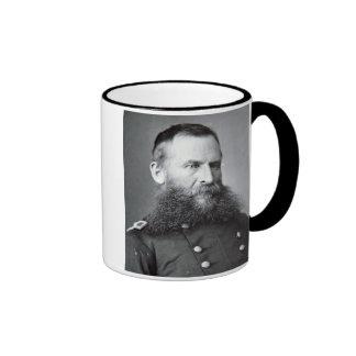 General George Crook (foto de b/w) Taza De Dos Colores