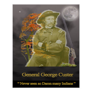 General George Custard Ghost Póster