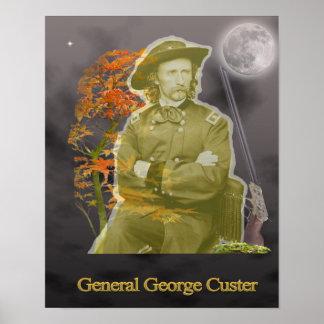 General George Custard Ghost Poster