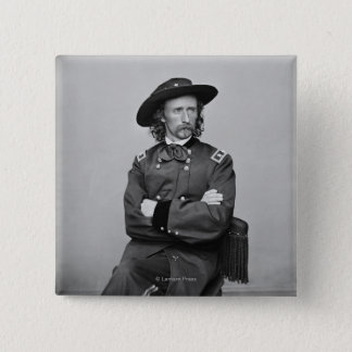 General George Custer 1 Button