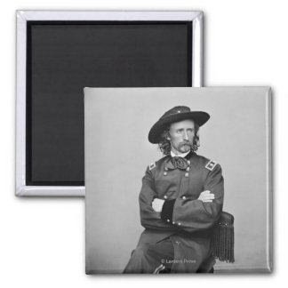 General George Custer 1 Magnets