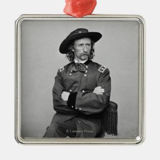 General George Custer 1 Metal Ornament
